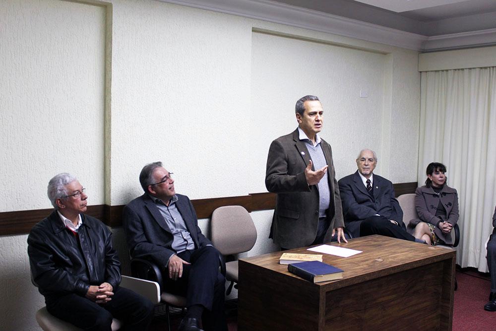 Dr. Marco Rocha Loures, presidente da SPR. Foto: Dr. Antonio Ribas